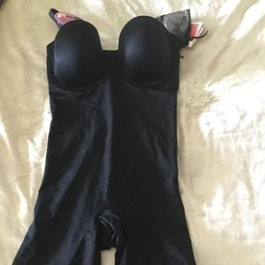 Suit Your Fancy Strapless Cupped Shaper Bodysuit